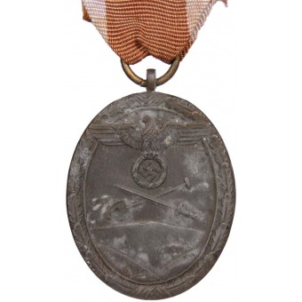Westwall Medal 2nd type. Espenlaub militaria