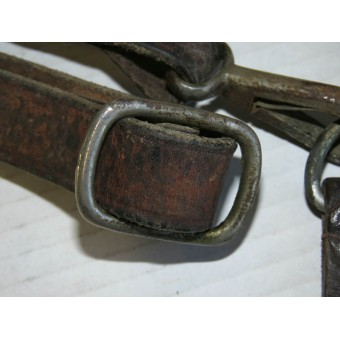 Cross strap Hitler Youth or SS. Leather, pre-war issue. Espenlaub militaria