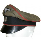 Crusher visor hat for artillery of the Waffen-SS