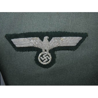 Waffenrock of an Unteroffizier of the 4th armored reconnaissance battalion of the Wehrmacht. Espenlaub militaria