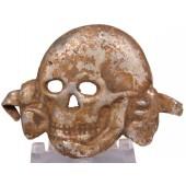 Aluminum skull for SS headgear. Latvian production