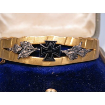 Patriotic bracelet of the First World War. Espenlaub militaria