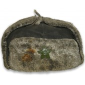 The winter hat M 40 - Ushanka for the units of the RKKF and the Soviet naval infantry