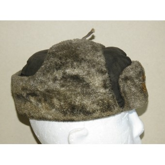 The winter hat M 40 - Ushanka for the units of the RKKF and the Soviet naval infantry. Espenlaub militaria