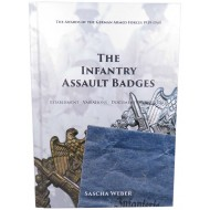 """The infantry assault badges"". Refernce book by Sascha Weber. NEW EDITION! 424 pages."