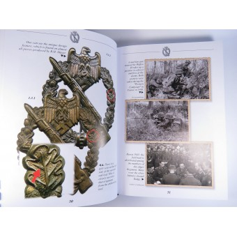 The infantry assault badges. Refernce book by Sascha Weber. NEW EDITION! 424 pages.. Espenlaub militaria