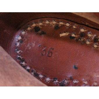 Uniform shoes of the Hitler Youth - size 36. Espenlaub militaria