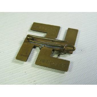 1. Marz 1935 Saar badge. Deschler. Espenlaub militaria