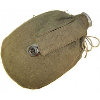 1940 year dated water bottle with M 41 cover. Espenlaub militaria