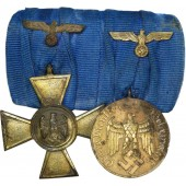 25 &12 years faithful service in the Wehrmacht cross and medal