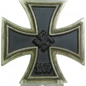 3rd Reich EK 1 -1939 Iron cross,  unmarked.
