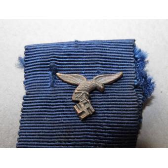 4 year of faithful service in the Wehrmacht medal, Luftwaffe version.. Espenlaub militaria