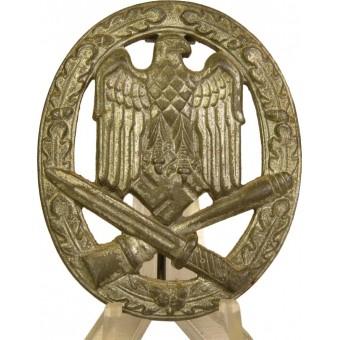 Allgemeine Sturmabzeichen,zinc, silvered. Espenlaub militaria
