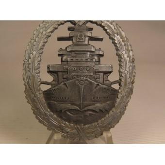 Flottenkriegsabzeichen der Kriegsmarine - High Seas Fleet Badge, RS & S. Espenlaub militaria