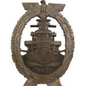 Flottenkriegsabzeichen der Kriegsmarine - High Seas Fleet Badge, RS & S