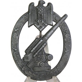 Heeres Flakkampfabzeichen. Kriegsmetall,  HA.. Espenlaub militaria
