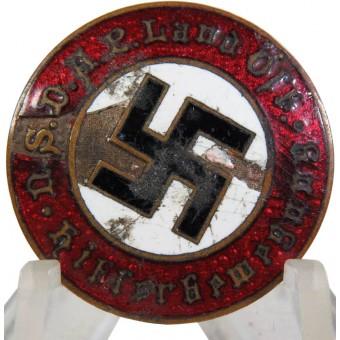 Hitler Bewegung Party Badge. Austrian, pre-1933 made.. Espenlaub militaria