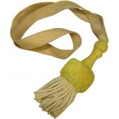 Imperial German Bayonet knot with yellow slide
