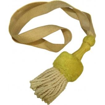 Imperial German Bayonet knot with yellow slide. Espenlaub militaria