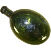Imperial Russian glass field canteen