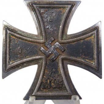 Klein und Quenzer Iron cross 1st class, marked 65. Espenlaub militaria