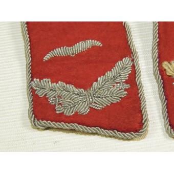 Luftwaffe Flak or Waffenoffizier collartabs in rank Leieutenant. Espenlaub militaria
