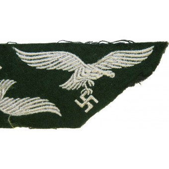 Luftwaffe Forester or field divisions breast eagle, dark green. Espenlaub militaria