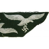 Luftwaffe Forester or field divisions breast eagle, dark green