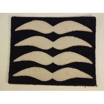 Luftwaffe insignia for flying uniform/ Rangabzeichen fuer den Fliegerschutzanzug,  Oberfeldwebel.. Espenlaub militaria