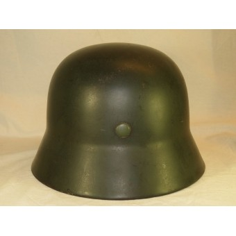 M 35 NS 64 double decal German helmet. Espenlaub militaria