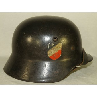 M35 Luftwaffe double decal steel helmet. Espenlaub militaria