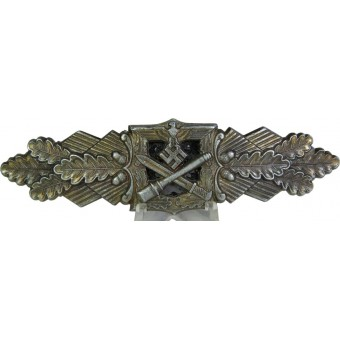 Nahkampfspange/ Close combat clasp in Bronze by F&BL. Espenlaub militaria