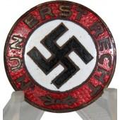 """NSDAP pre 1933 year badge """" Nun Erst Recht"""""""