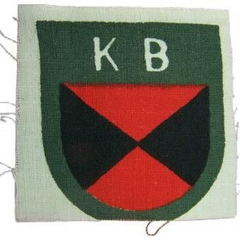 Russian volunteers, Kuban Cossacks printed sleeve shield. Espenlaub militaria
