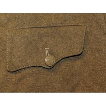 Soviet Russian M43  gymnasterka jacket, US lend lease wool made.. Espenlaub militaria