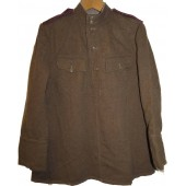 Soviet Russian M43  gymnasterka jacket, US lend lease wool made.