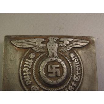 Waffen SS steel buckle, marked 155/40 SS RZM - Assmann. Espenlaub militaria