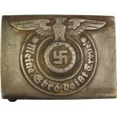 Waffen SS steel buckle, marked 155/40 SS RZM - Assmann