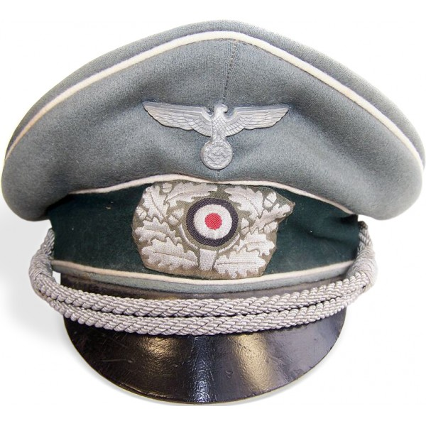 WW2 German infantry crusher type visor hat- Visor Hats 363c028d823