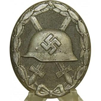 WW2 German Wound badge in silver. Espenlaub militaria