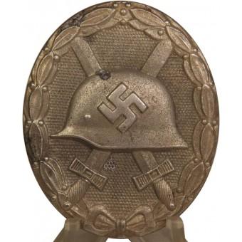 WW2 German Wound badge in silver, L22. Espenlaub militaria