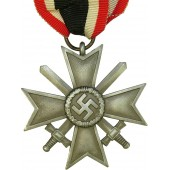 "1939 the War Merit Cross with swords, ""10"", Förster & Barth Pforzheim Kriegsverdienstkreuz"