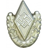 1940 Participant of Hitlerjugend sport event badge