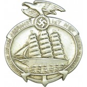 3rd Reich 1935 Day Of The German Seaman badge