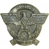 3rd Reich, badge devoted to the Police Day, 1942