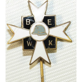 German Union of WWI Warrior's memeber badge, 3rd Reich, BEWK.. Espenlaub militaria