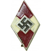 Hitlerjugend badge. Marking RZM M1/47-Christian Dicke-Lüdenscheid