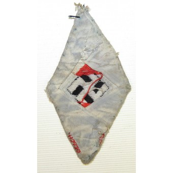 Hitlerjugend (HJ) or BDM diamond patch