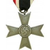 KVK2 cross without swords for noncombatants. Kriegsverdienstkreuz, zinc