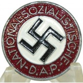 NSDAP Party Badge M1/34 - Karl Wurster, Markneukirchen